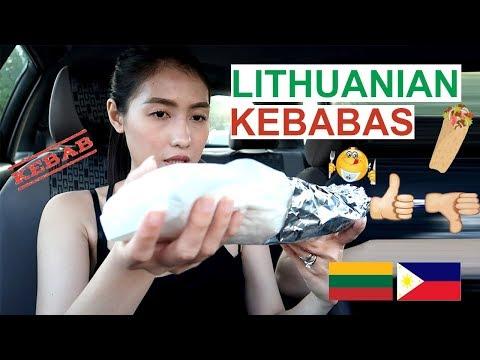 "Trying Lithuanian KEBABAS ""Good or Bad"" ? (PinayVlog) it'srofa"