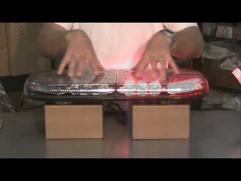 Whelen Mini Justice Super Led Lightbar Youtube