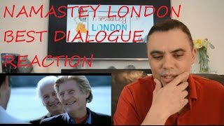 ROBERT REACT NAMASTEY LONDON BEST DIALOGUE REACTION REVIEW