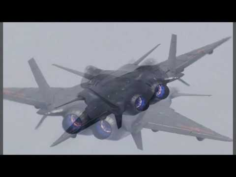 """China unveils """"invisible"""" fighter plane"""