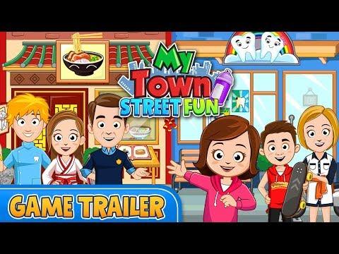My Town : Street Fun - Game Trailer