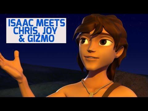 Isaac Meets Chris, Joy & Gizmo - Superbook