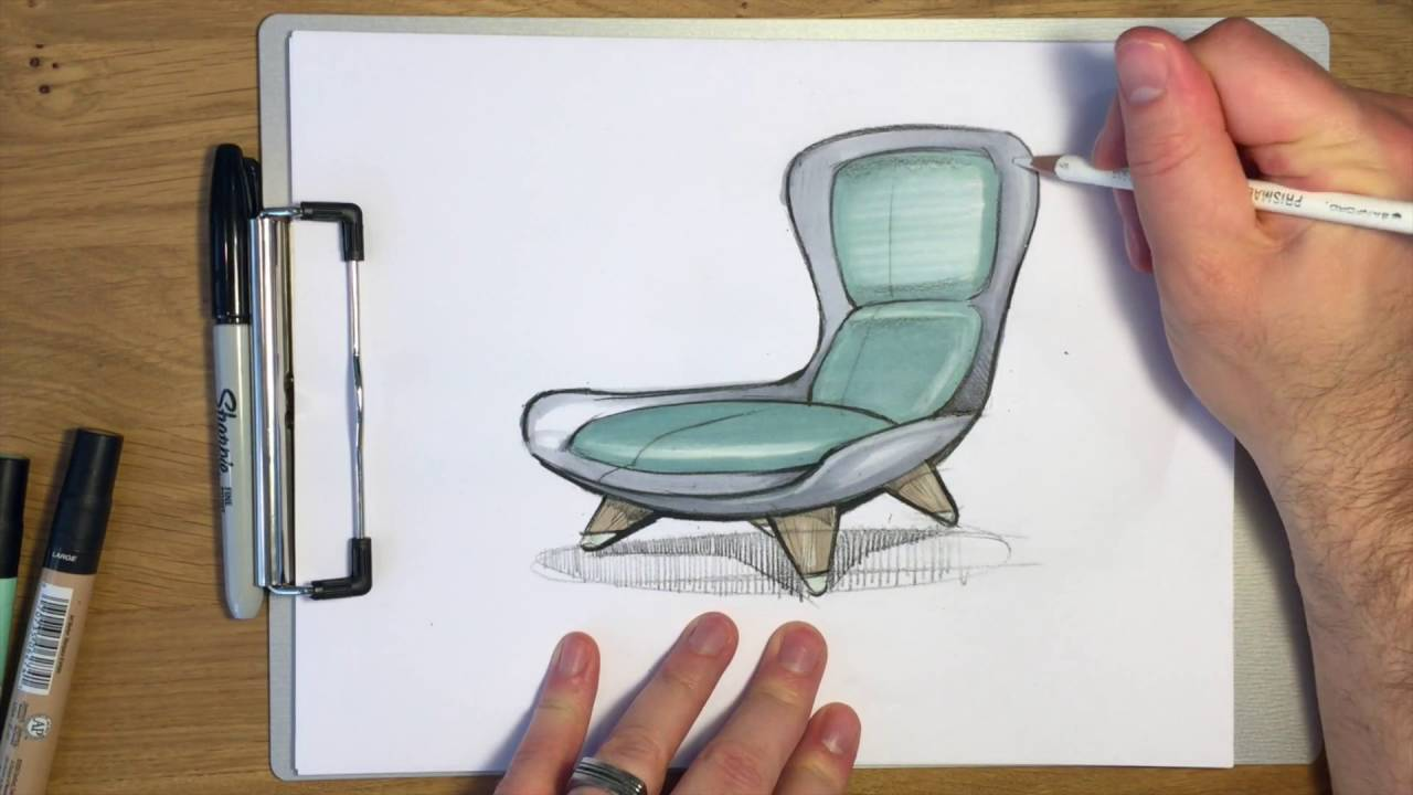 Chair Sketch Youtube