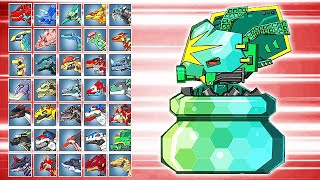 Dino Robot Battle Arena: Ancient Octopus Siege (Assembly + Fights) | Eftsei Gaming