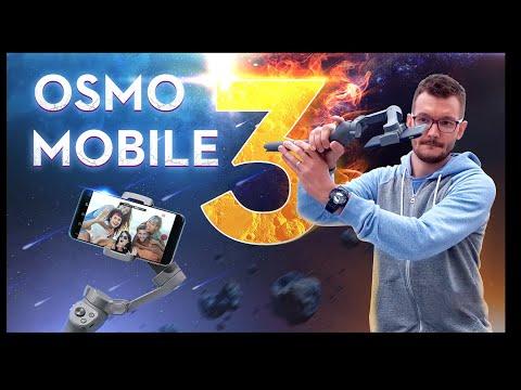 DJI Osmo Mobile 3 обзор