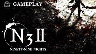 """Ninety-Nine Nights II """"Medieval Fantasy Warfare"""" GAMEPLAY"""
