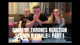GAME OF THRONES SEASON 8 FINALE REACTION - PART 1