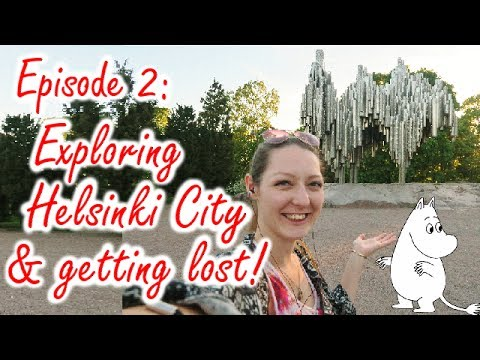 Ep 2: Exploring Helsinki City & getting lost! FINLAND
