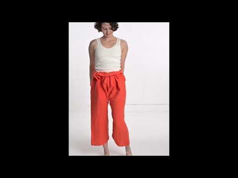 Organic Hemp Thai Fisherman's Pants