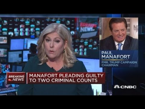 Paul Manafort pleading guilty to two criminal counts