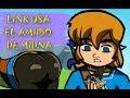 Zelda BOTW (parodia) - Link usa el amiibo de Midna
