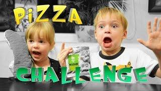 Пицца Челлендж Пробуем гадкую пиццу  Pizza Challenge Try nasty pizza