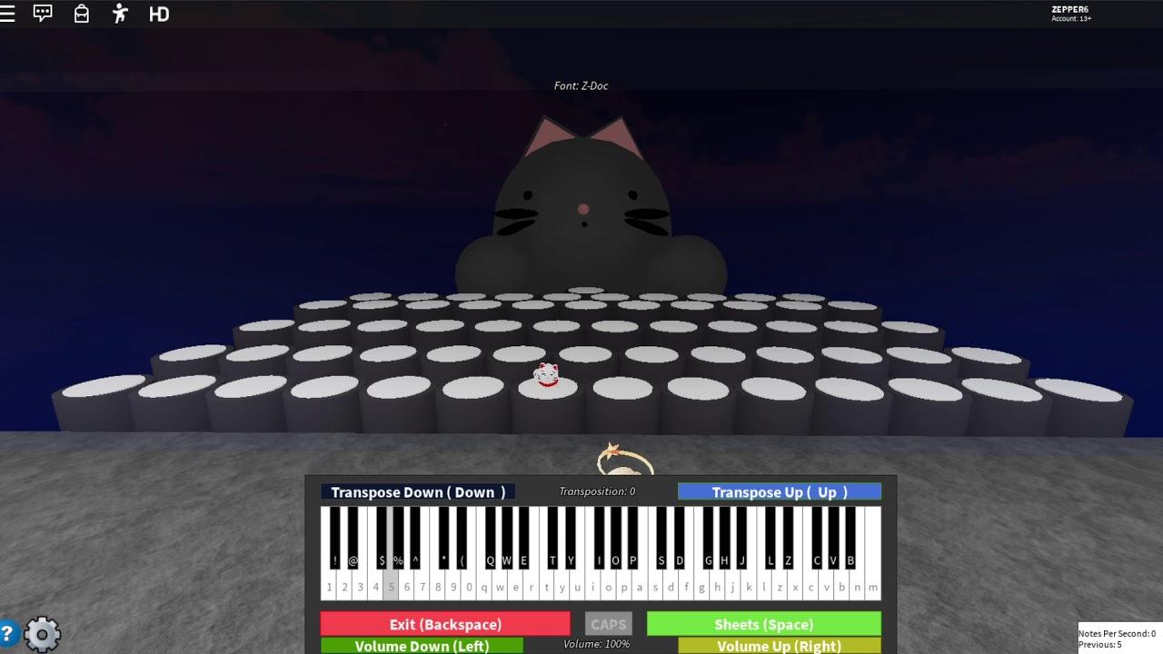 Melanie Martinez Copy Cat Roblox Piano Youtube