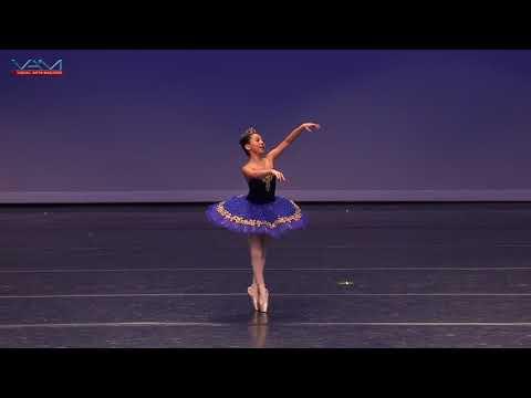 Madeleine Chen (11) YAGP 2018 DALLAS Top 12 Classical Pre-Competitive_Blue Bird