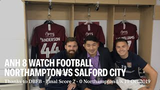 Anh 8 Watching Football Northampton vs Salford City