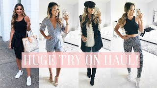 HUGE NORDSTROM SALE TRY ON HAUL! FALL CLOTHES, SHOES, FITNESS! | ALEXANDREA GARZA
