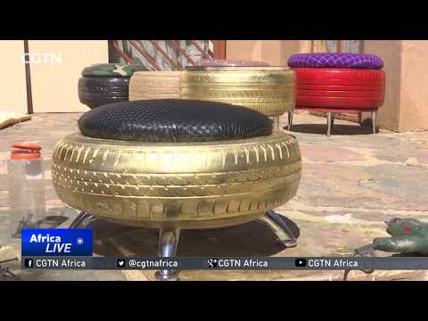 South African Entrepreneur Converts Discarded Tyres To Furniture