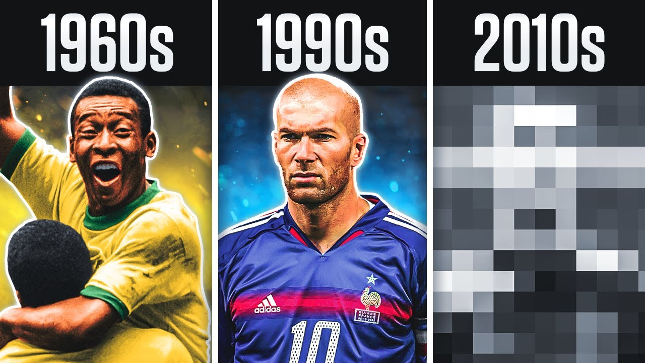 Best Player from Every Decade in Football History