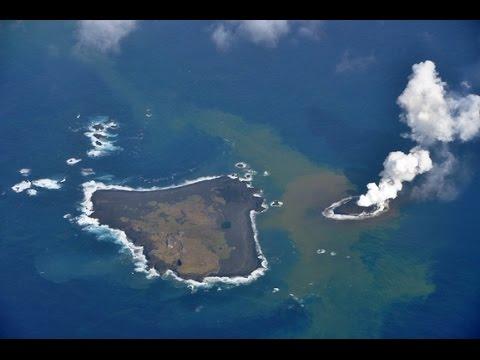 LA ISLA QUE CRECE... Isla Rosario (Nishinoshima).