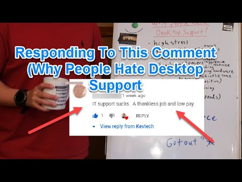 IT: IT Support Sucks! Why People Hate Desktop Support
