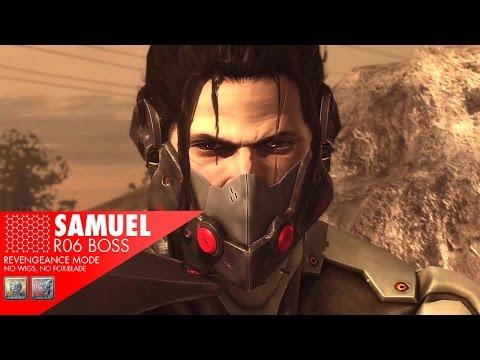 [60fps] Metal Gear Rising - R06 Boss - Samuel S Rank (Revengeance)