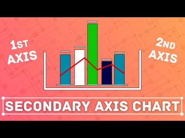 A secondary axis chart: How to add a secondary axis in Tableau?