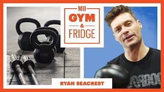 Ryan Seacrest Shows His Gym & Fridge | Gym and Fridge | Men's Health