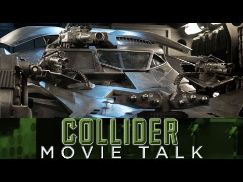 New Batmobile From Justice League Revealed - Collider Movie Talk