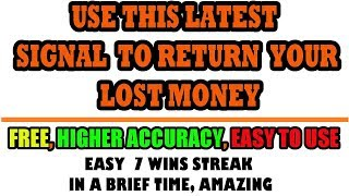 The latest signal for IQ option  - This strategy is 100% profitable for real account -  live trading