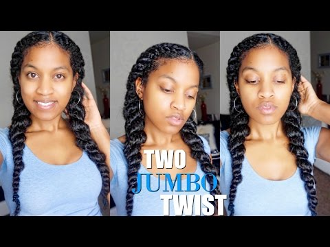 how-to-jumbo-flat-twist natural-hair-protective-style