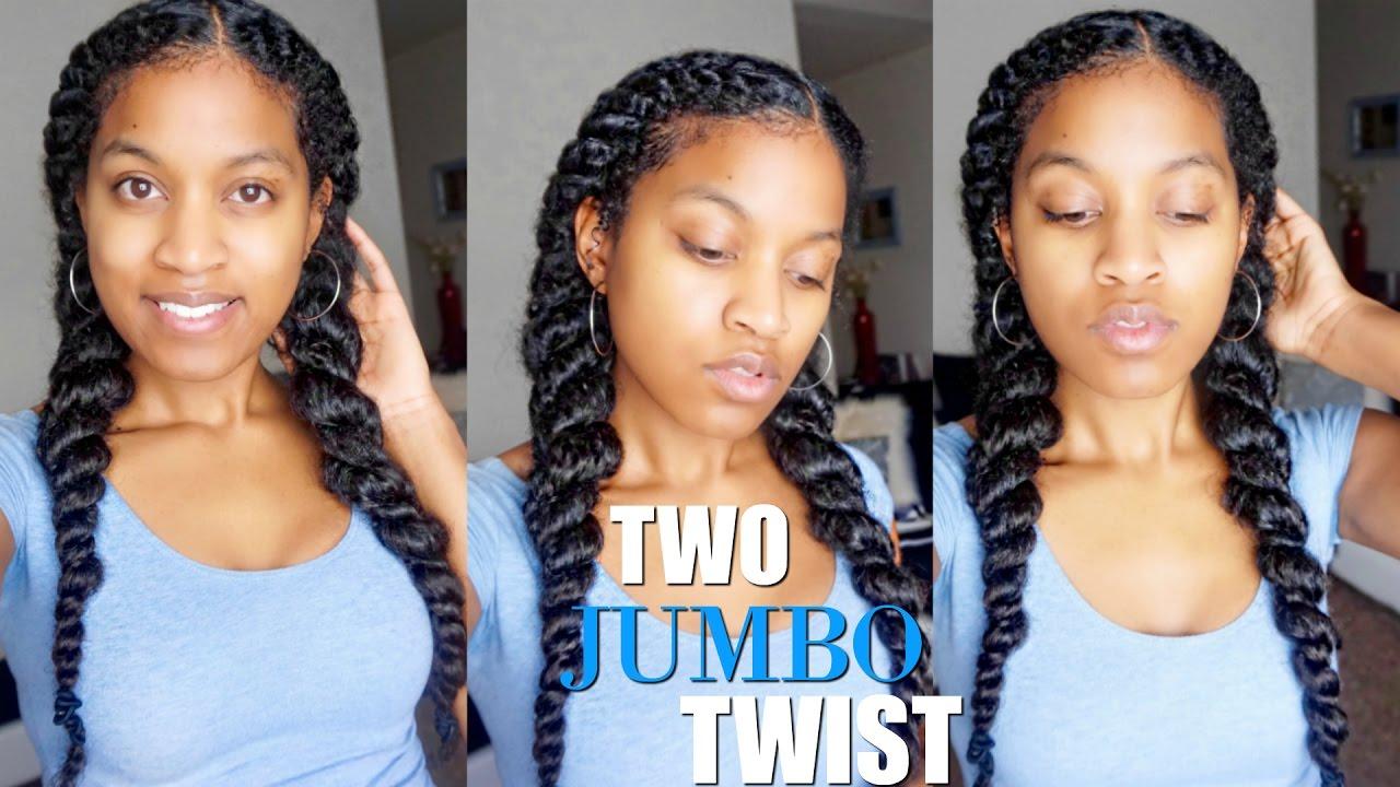 jumbo flat twist natural