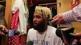 Giants' Odell Beckham discusses reported 'dance-off' with Russell Westbrook thumbnail