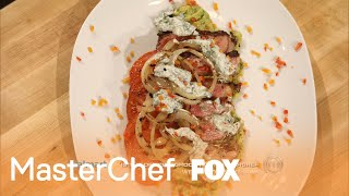 Recipe: Spice-Rubbed Rib Eye Steak | Season 4 | MASTERCHEF