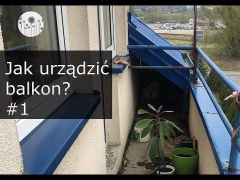 Jak urządzić wąski i długi balkon? Balkonowy vlog #1