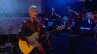 David Byrne Glass, Concrete, Stone Live Jools Holland 2004