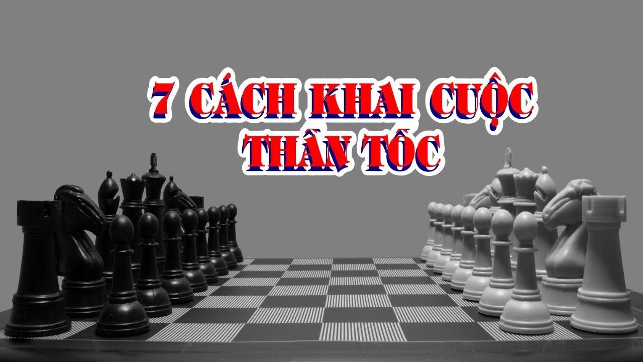 7 Cách Khai Cuộc Cờ Vua Bằng Gambit || Cạm bẫy Khai Cuộc || Playchess1vn