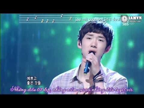 {IAMVN Vietsub} 2AM - This Song [Live 2008.08.17]