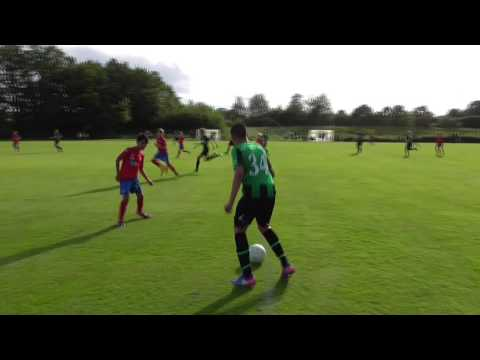 Första halvlek Högaborgs BK 04 - Helsingborgs IF 05