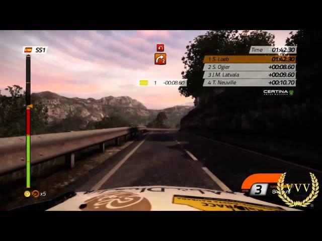 WRC 4 Spain - Dusk