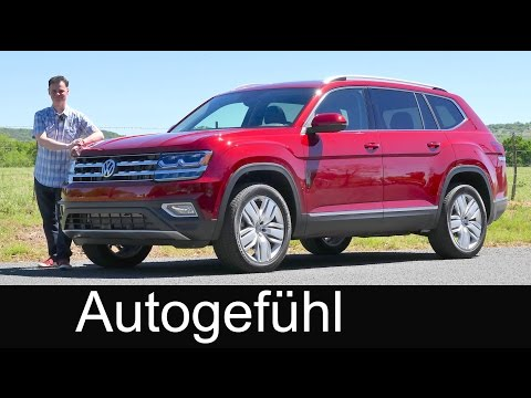 Volkswagen Atlas FULL REVIEW all-new Teramont VW SUV test driven - Autogefühl