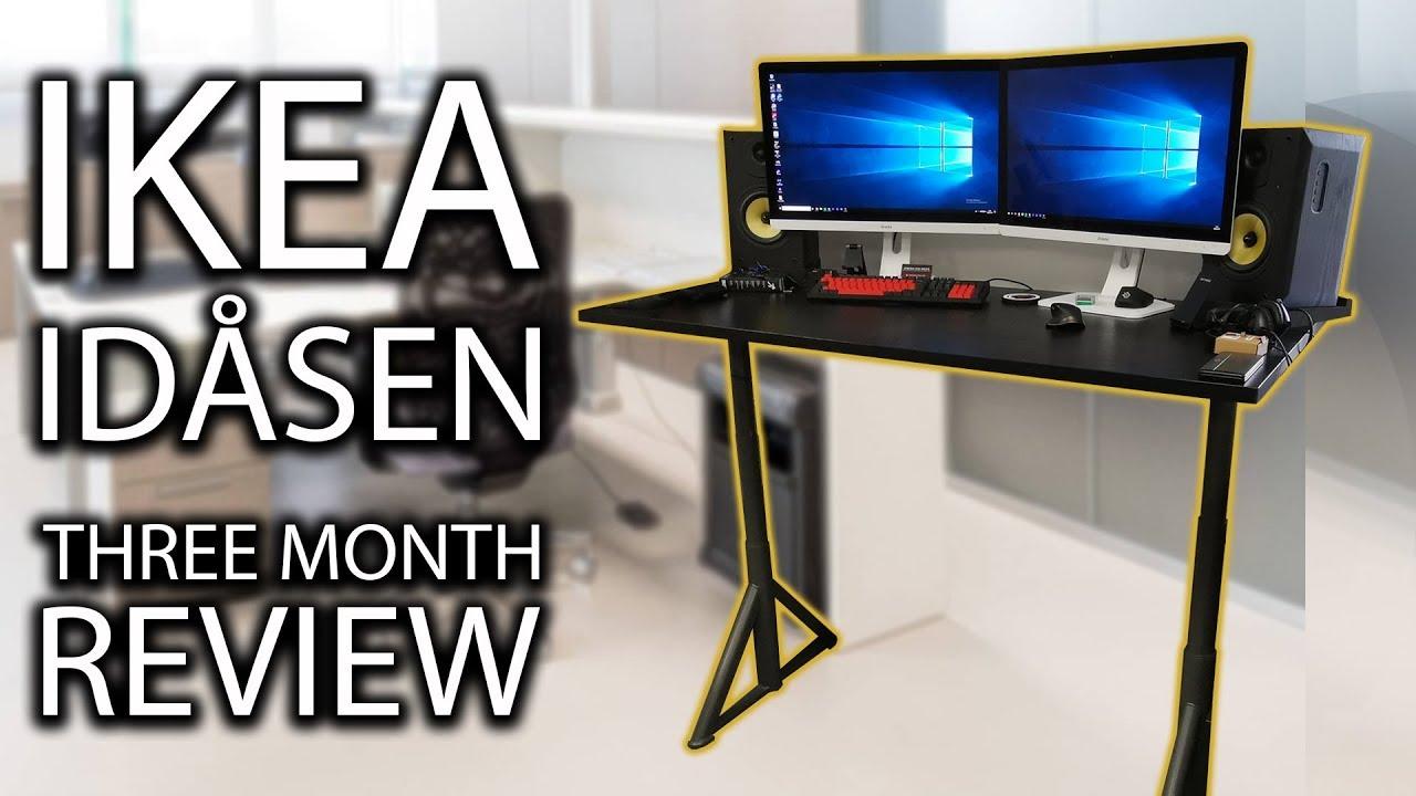 Ikea IdÅsen Sit Stand Desk Three