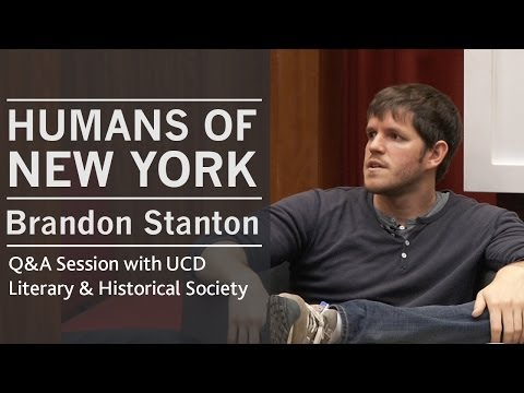 On moderating the comments section | Humans of New York (HONY) creator Brandon Stanton