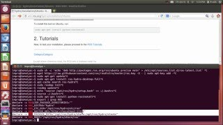 Tutorial1 - ROS Installation on Ubuntu system
