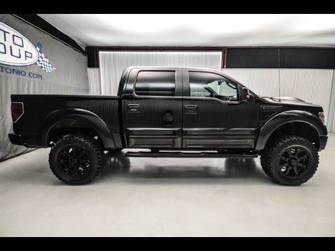 Used 2013 Ford F150 FX4 Tuscany Black Ops Edition Lifted