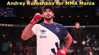 Andrey Koreshkov Interview Before Trilogy Fight With Douglas Lima