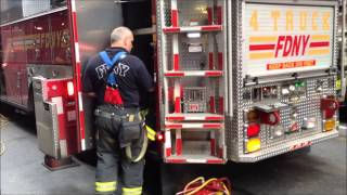 RESTAURANT FIRE - FDNY ENGINE 26, 16, 65, FDNY LADDER 24, 4, FDNY BATTALION CHIEF 9 AT ON 39TH ST.