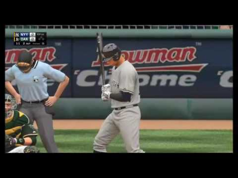MLB The Show 16: New York Yankees vs. Oakland Athletics in extra innings (05/21/16)