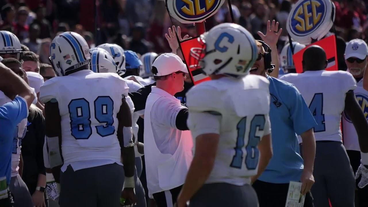 official photos 12bea 1bdbb The Citadel Football vs Alabama Highlights 11/17/18