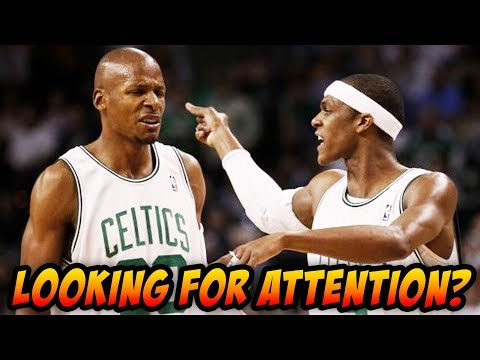 Ray Allen Exposes Rondo's Character In New Book