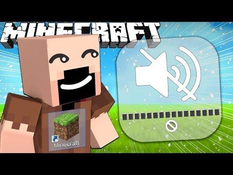 If Minecraft Had No Sound Effects
